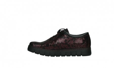 wolky chaussures a lacets 02325 vic 47505 daim rouge_13