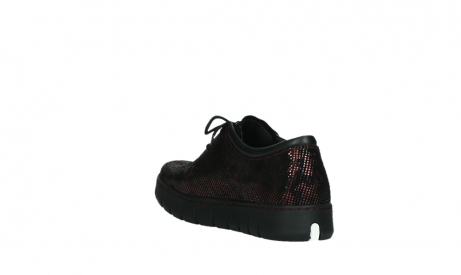 wolky chaussures a lacets 02325 vic 47505 daim rouge_17