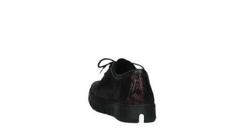 wolky chaussures a lacets 02325 vic 47505 daim rouge_18