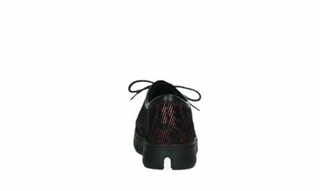 wolky chaussures a lacets 02325 vic 47505 daim rouge_19