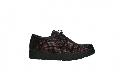 wolky chaussures a lacets 02325 vic 47505 daim rouge_2