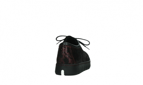 wolky chaussures a lacets 02325 vic 47505 daim rouge_20