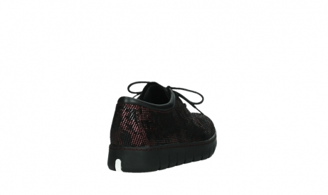 wolky chaussures a lacets 02325 vic 47505 daim rouge_21