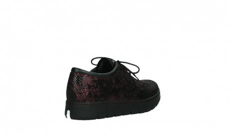 wolky chaussures a lacets 02325 vic 47505 daim rouge_22