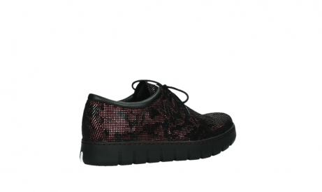 wolky chaussures a lacets 02325 vic 47505 daim rouge_23