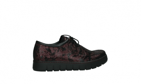 wolky chaussures a lacets 02325 vic 47505 daim rouge_24
