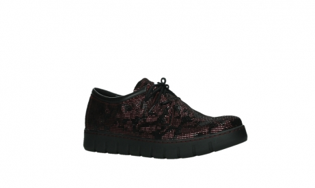 wolky chaussures a lacets 02325 vic 47505 daim rouge_3