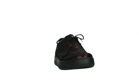 wolky chaussures a lacets 02325 vic 47505 daim rouge_6
