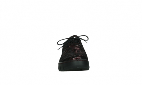 wolky chaussures a lacets 02325 vic 47505 daim rouge_7
