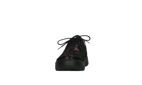 wolky chaussures a lacets 02325 vic 47505 daim rouge_8