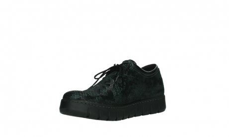wolky chaussures a lacets 02325 vic 47715 daim vert_10
