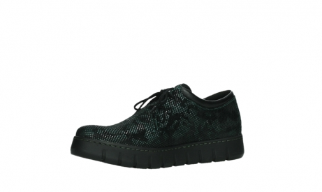 wolky chaussures a lacets 02325 vic 47715 daim vert_11