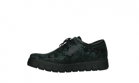 wolky chaussures a lacets 02325 vic 47715 daim vert_12