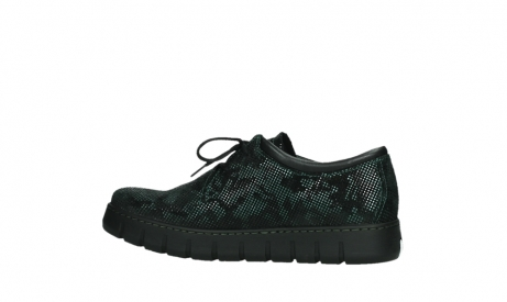 wolky chaussures a lacets 02325 vic 47715 daim vert_14