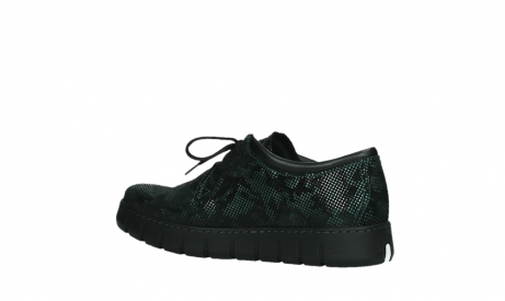 wolky chaussures a lacets 02325 vic 47715 daim vert_15