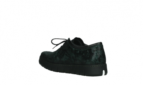 wolky chaussures a lacets 02325 vic 47715 daim vert_16