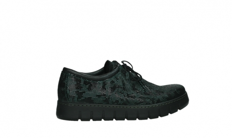wolky chaussures a lacets 02325 vic 47715 daim vert_24