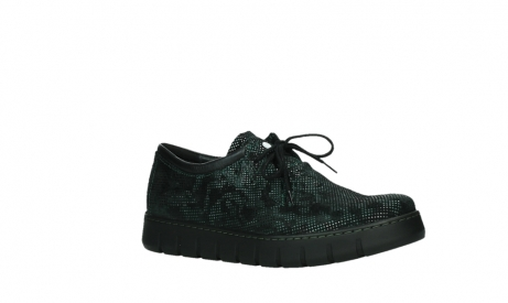 wolky chaussures a lacets 02325 vic 47715 daim vert_3