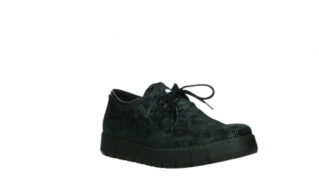 wolky chaussures a lacets 02325 vic 47715 daim vert_4