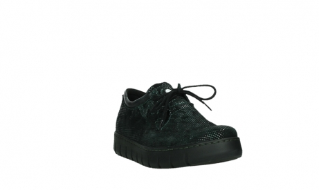 wolky chaussures a lacets 02325 vic 47715 daim vert_5