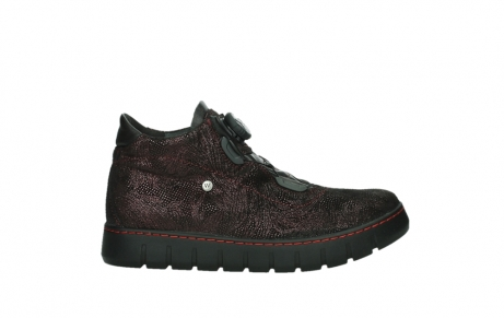 wolky chaussures a lacets 02326 rap 43510 daim metal bordo_1
