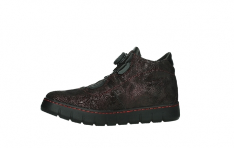 wolky chaussures a lacets 02326 rap 43510 daim metal bordo_12