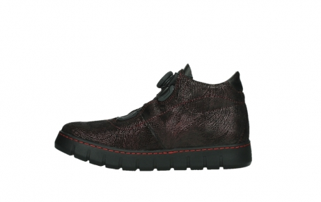 wolky chaussures a lacets 02326 rap 43510 daim metal bordo_13