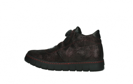 wolky chaussures a lacets 02326 rap 43510 daim metal bordo_14