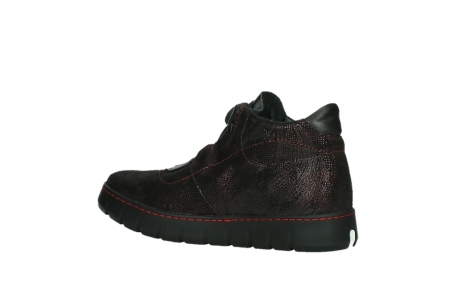 wolky chaussures a lacets 02326 rap 43510 daim metal bordo_15