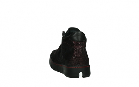 wolky chaussures a lacets 02326 rap 43510 daim metal bordo_18