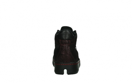 wolky chaussures a lacets 02326 rap 43510 daim metal bordo_19