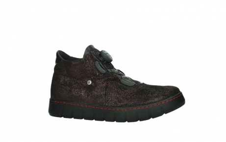 wolky chaussures a lacets 02326 rap 43510 daim metal bordo_2