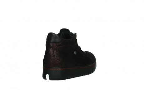 wolky chaussures a lacets 02326 rap 43510 daim metal bordo_21