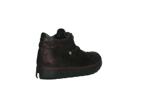 wolky chaussures a lacets 02326 rap 43510 daim metal bordo_22