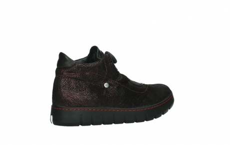 wolky chaussures a lacets 02326 rap 43510 daim metal bordo_23