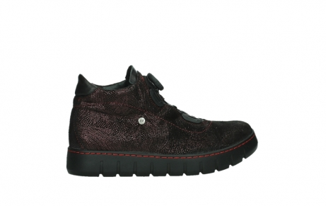 wolky chaussures a lacets 02326 rap 43510 daim metal bordo_24