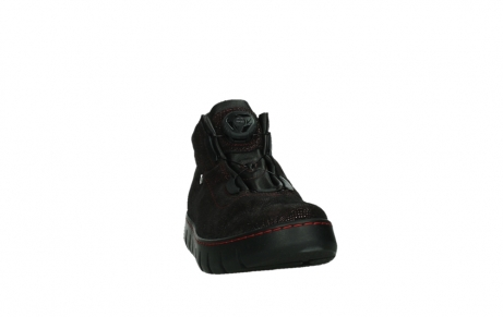 wolky chaussures a lacets 02326 rap 43510 daim metal bordo_6