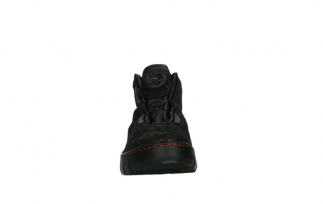 wolky chaussures a lacets 02326 rap 43510 daim metal bordo_7