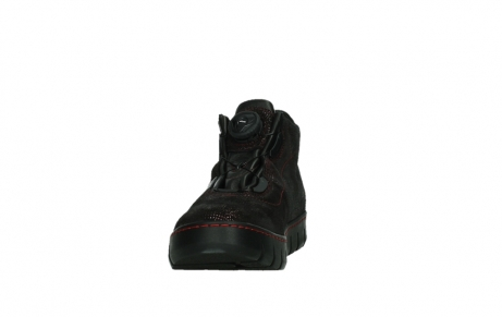 wolky chaussures a lacets 02326 rap 43510 daim metal bordo_8