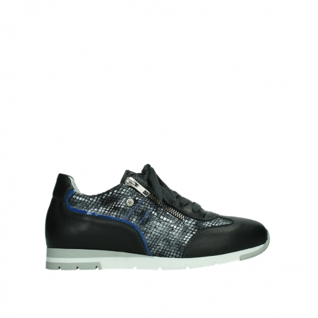wolky chaussures a lacets 02526 yell xw 29000 cuir noir