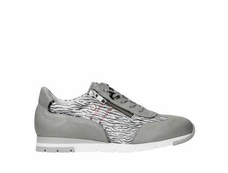wolky chaussures a lacets 02526 yell xw 88130 cuir gris argente_1