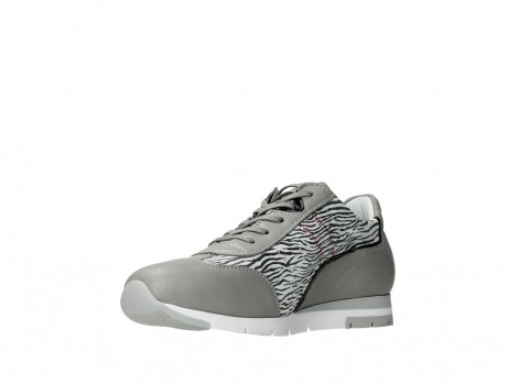 wolky chaussures a lacets 02526 yell xw 88130 cuir gris argente_10