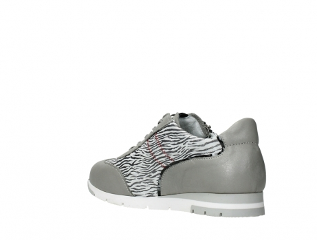 wolky chaussures a lacets 02526 yell xw 88130 cuir gris argente_16