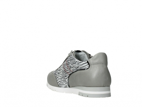 wolky chaussures a lacets 02526 yell xw 88130 cuir gris argente_17