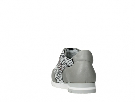 wolky chaussures a lacets 02526 yell xw 88130 cuir gris argente_18