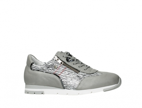 wolky chaussures a lacets 02526 yell xw 88130 cuir gris argente_2