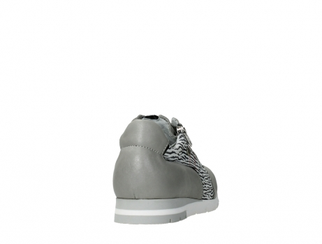 wolky chaussures a lacets 02526 yell xw 88130 cuir gris argente_20