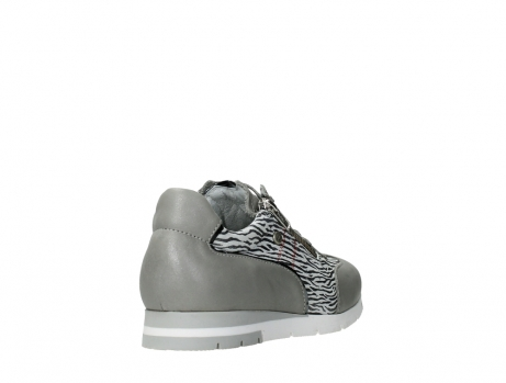 wolky chaussures a lacets 02526 yell xw 88130 cuir gris argente_21