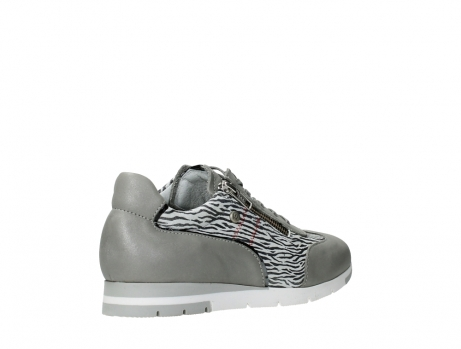 wolky chaussures a lacets 02526 yell xw 88130 cuir gris argente_22