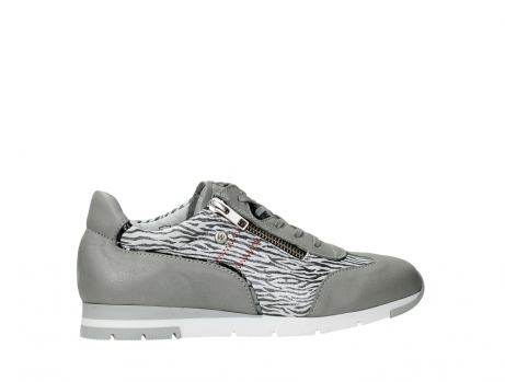 wolky chaussures a lacets 02526 yell xw 88130 cuir gris argente_24